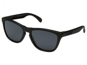 Oakley Frogskins (Lead/Black Iridium) Sport Sunglasses