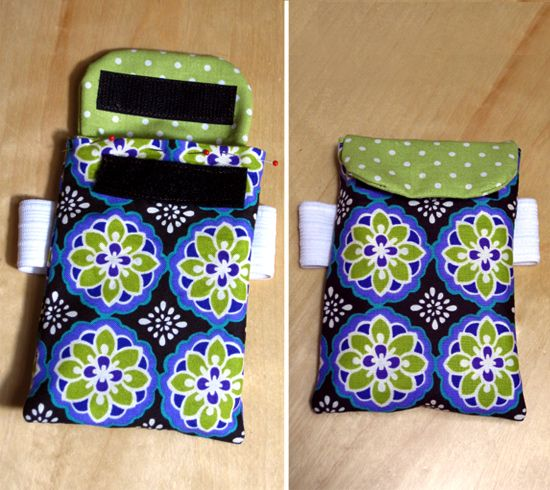 DIY phone/ipod armband :D would make a super cute and personalized gift