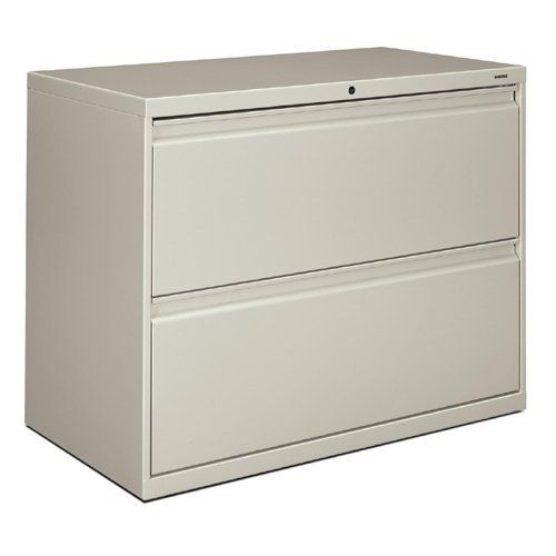 "HON 800 Series Lateral File - 36"" x 19.25"" x 28.38"" - Steel - 2 x File Drawer(s) - Legal, Letter - Interlocking, Label Holder, Durable, Ball-bearing Suspension, Leveling Glide, Recessed Handle - Light Gray by HON Products. $435.06. HON 800 Series Lateral File - 36"" x 19.25"" x 28.38"" - Steel - 2 x File Drawer(s) - Legal, Letter - Interlocking, Label Holder, Durable, Ball-bearing Suspension, Leveling Glide, Recessed Handle - Light Gray Lateral file offers c..."