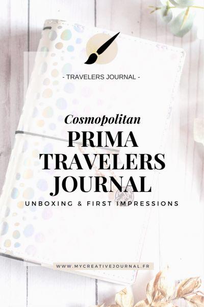 Prima Traveler's Journal Cosmopolitan : Mon avis