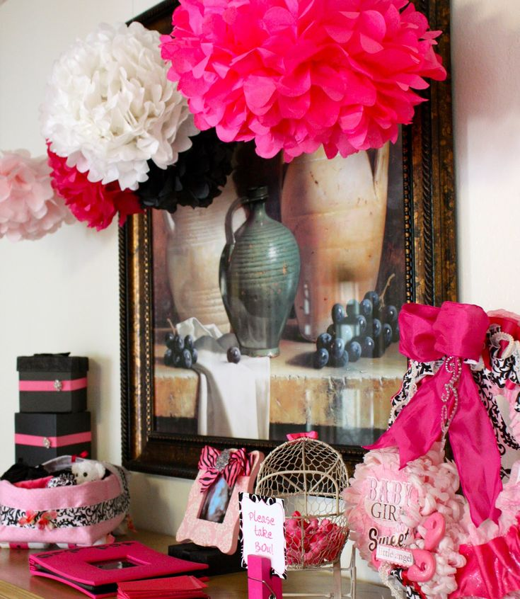 Black And Pink Baby Shower Part - 30: 154 Best Babyshower Ideas Images On Pinterest | Boy Baby Showers, Shower  Ideas And Baby Shower Activities