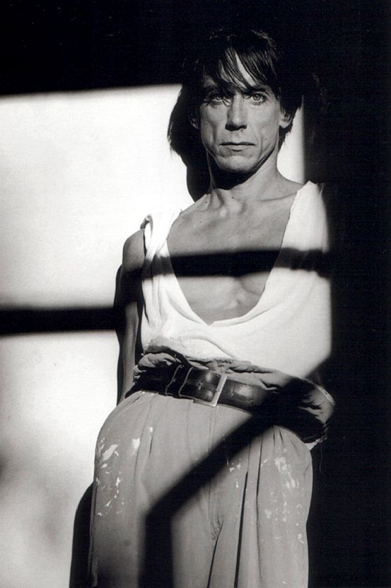Iggy Pop (b. 1947) by by Greg Gorman, 1987.