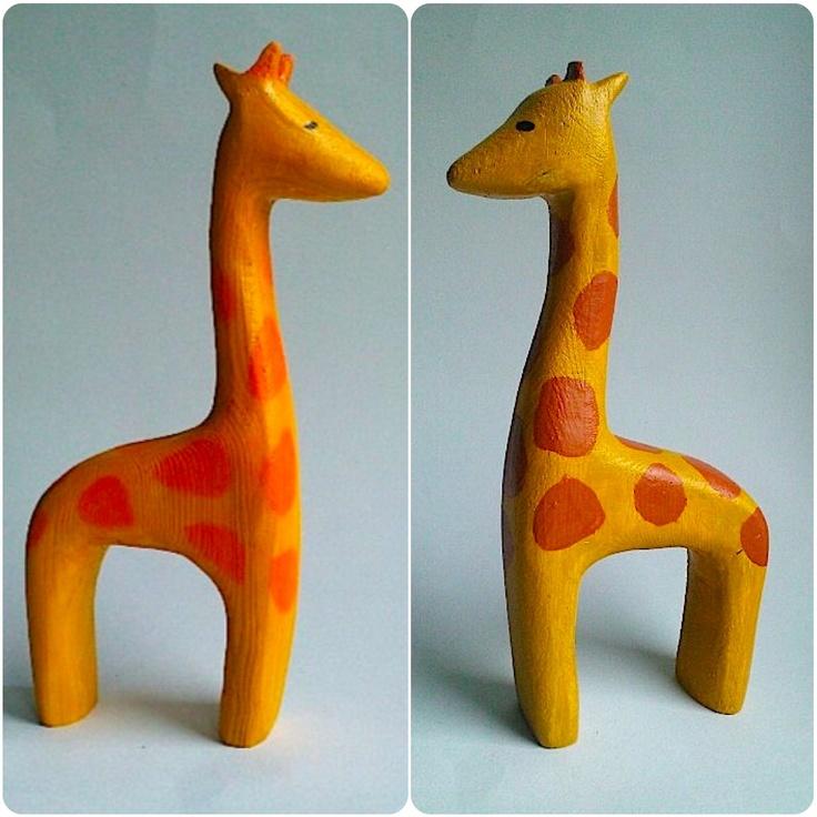 b for Bjørn: Giraf vs. Giraf