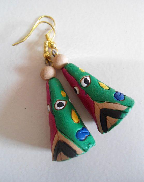 Terracotta Jewellery #jute #jewellery #art #craft #DIY #India #ecofriendly #kalakari #beauty