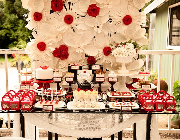 """Photo 7 of 37: 1920's Poppy High Tea / Baby Shower/Sip & See """"Britta's Baby Shower""""   Catch My Party"""