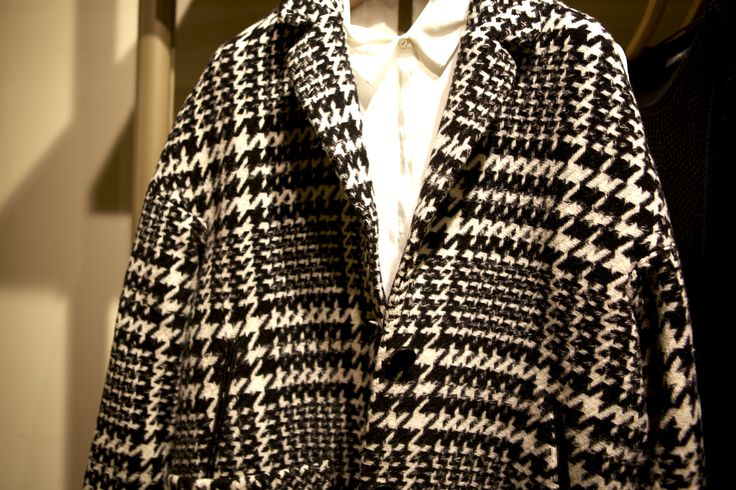 Cosy up in this monochrome jacket from @espritofficial. #RegentStreet #AW14