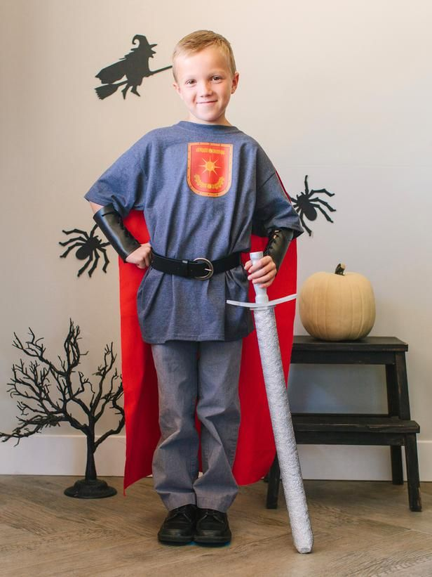 Brave Knight Costume - DIY Halloween Costumes and Makeup Tricks on HGTV