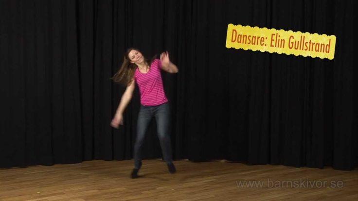 Gud är stor - Dansrörelser