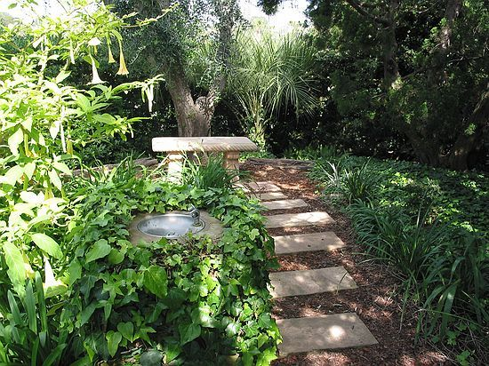 A Meditation Spot In One Of My Favorite Places On Earth: Yoganandau0027s Meditation  Garden In