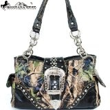 http://www.sirgo.com/cheap-camo-purses-under-30.aspx - Montana West Cow Girl Camouflage Buckle Handbag in Black Western Camo Shoulder Purse - Under $30  #ppgcamopurse