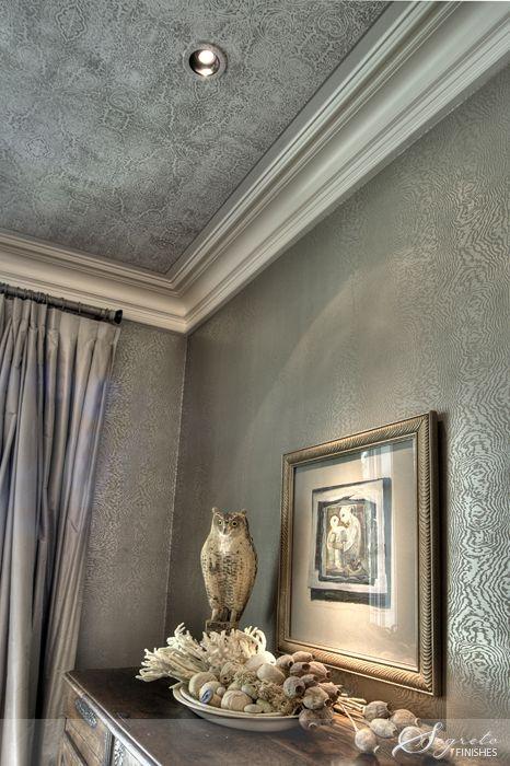 Metallic interiors how to make a room shine for the home pinterest feminine make a room - Make bathroom shine ...