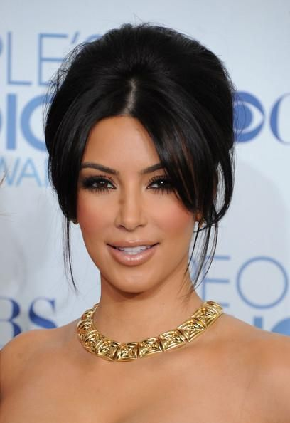 kim kardashian maekup   Kim Kardashian Inspired Makeup tutorial - Paperblog