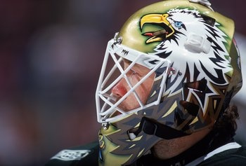 My favorite athlete of all time, Ed Belfour. Hall of famer, Stanley Cup winner, Dallas Stars legend.