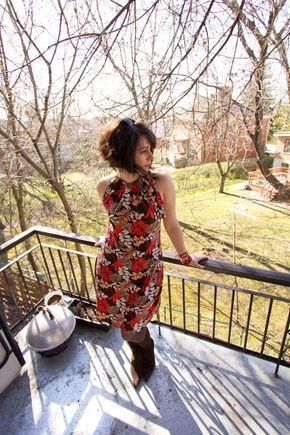 patron couture facile gratuit robe 4
