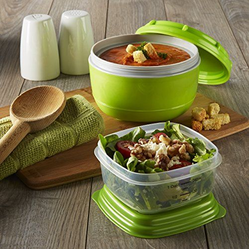 Fresh Selects Soup & Side Container Set