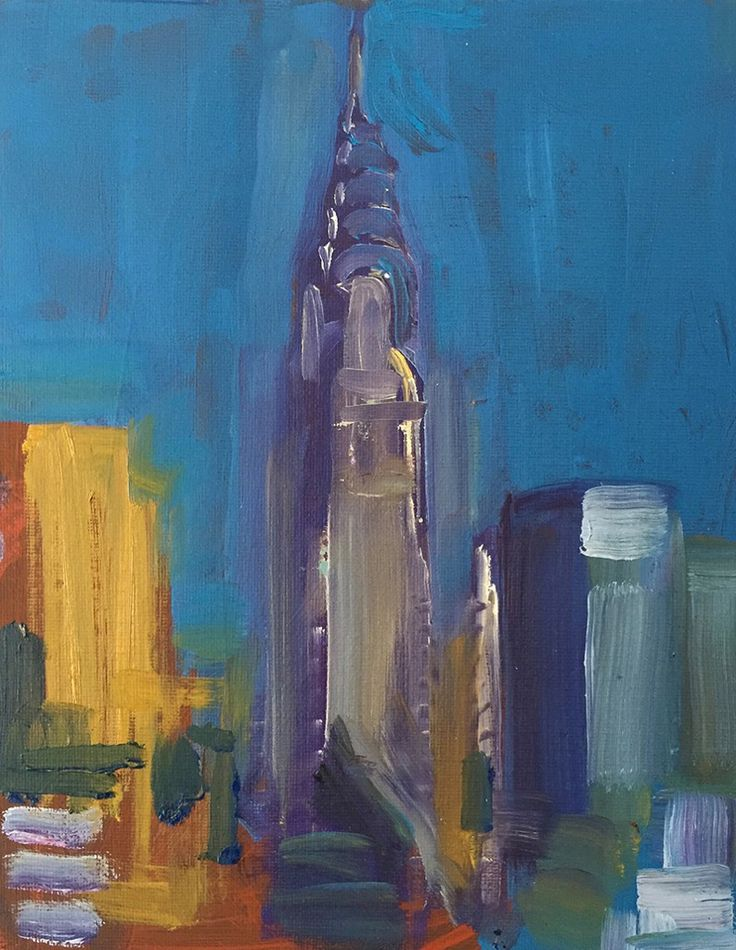 Chrysler Building, NYC. SOLD