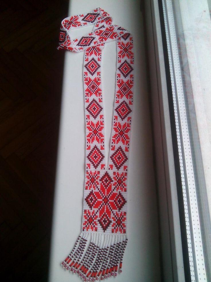 Гердан Вышиванка | biser.info - всё о бисере и бисерном творчестве
