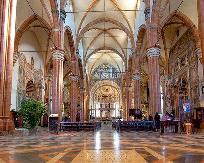 Saint Anastasia Catholic Church ~ Verona, Italy
