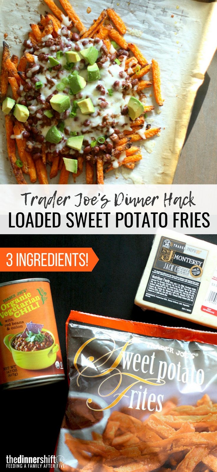 Trader Joes Recipe Loaded Sweet Potato Fries