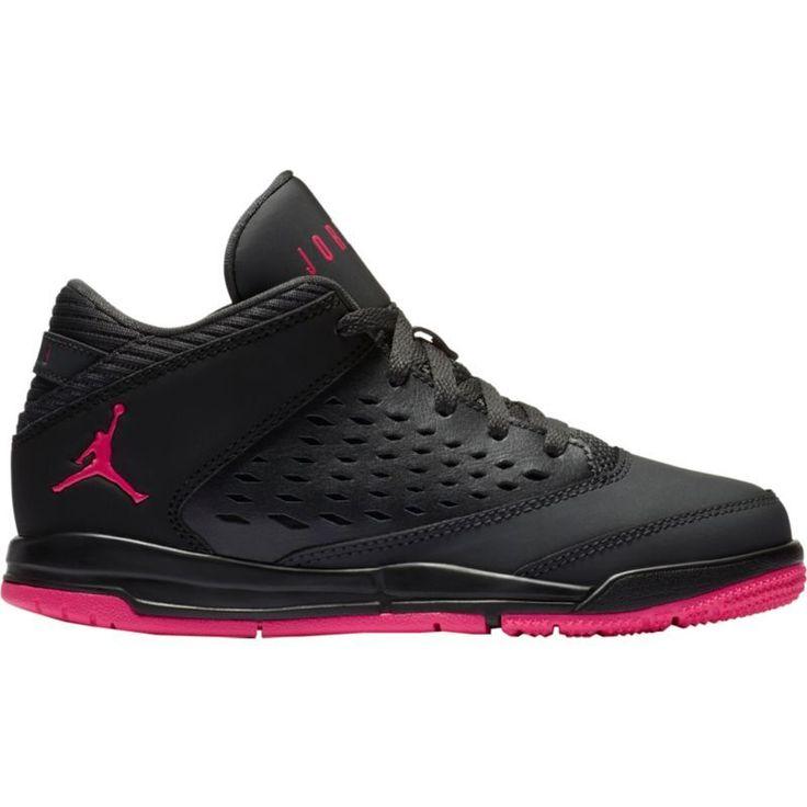 Jordan Kids' Preschool Jordan Flight Origin 4 Basketball Shoes, Boy's, Black