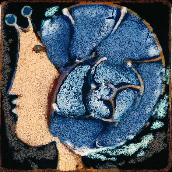 Querubim Lapa | Placa Cerâmica | 1970 | MNAz Inv. nº C-9 #Azulejo #QuerubimLapa #MNAz