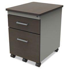 ** Trento Mobile Box/File Pedestal File With Handles, 17w x 21d x 22-3/4h, Mocha ** ****.  #4COU #Home