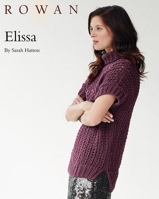 FREE Rowan pattern: Elissa by Sarah Hatton, in All-Seasons Chunky