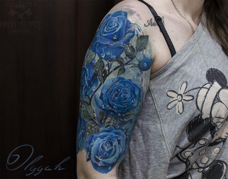 blue roses by on deviantart. Black Bedroom Furniture Sets. Home Design Ideas