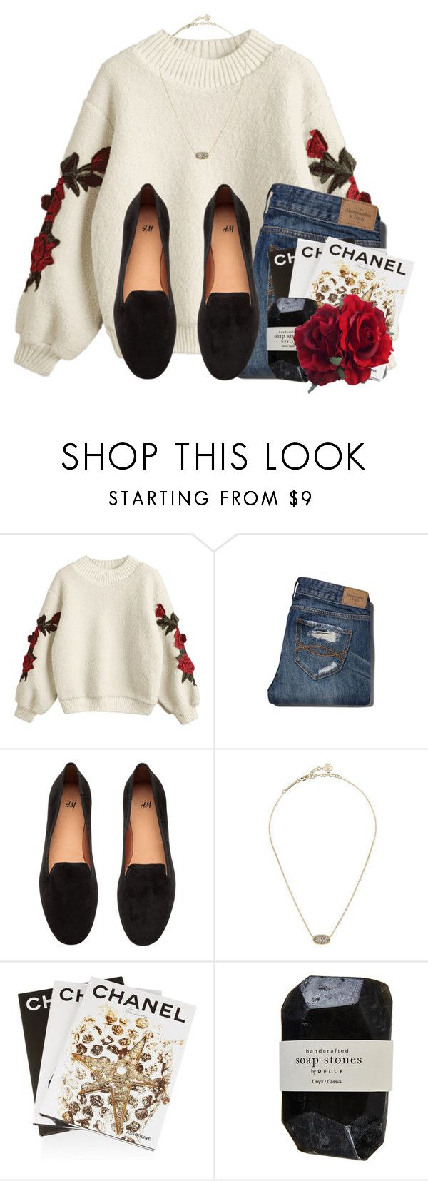 """Getting baptized tomorrow!"" by lindonhaley ❤ liked on Polyvore featuring Abercrombie & Fitch, H&M, Kendra Scott, Assouline Publishing and Cassia"
