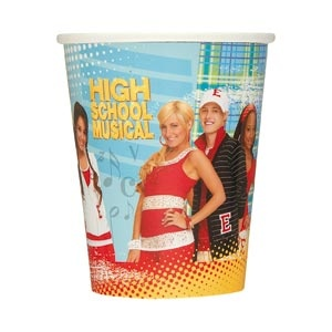 High School Musical 9oz Cups 8/pkg