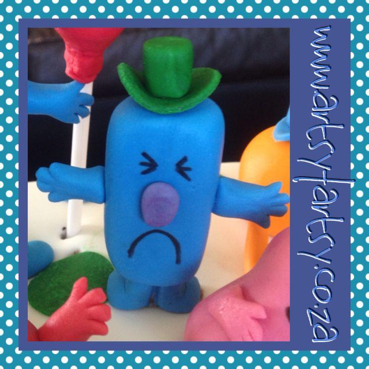 Mr Men, Mr Grumpy Sugar Figurine #mrmensugarfigurine #mrgrumpysugarfigurine