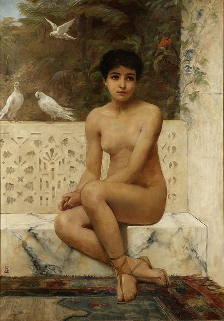 Edwin Logsden Long  - Ready for the bath, ______________________________ ♥♥♥ deniseweb.free.fr ♥♥♥