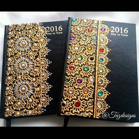 2016 diaries in various designs now available..get yours now for the new year DM me for more details :) #diaries #2016 #2016diary #henna #mehndi #design #diamonds #pearl #art #colours #gift #friends #family #flower #cute #hennadiary #hennadiary2016 #2016herewecome #multicoloured #gems #gold #blackdiary #black #designs #artist #canvasart #instagram #nature #personalised #work