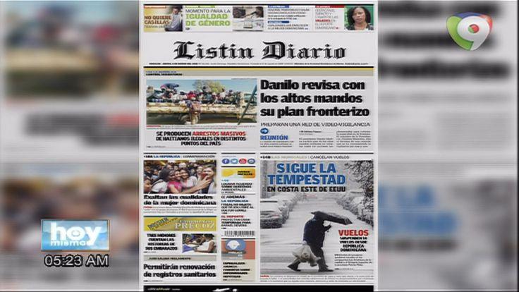 Entérate De Las Noticias Con Las Portadas De Los Principales Periódicos De Circulación De Este 8 De Marzo Del 2018