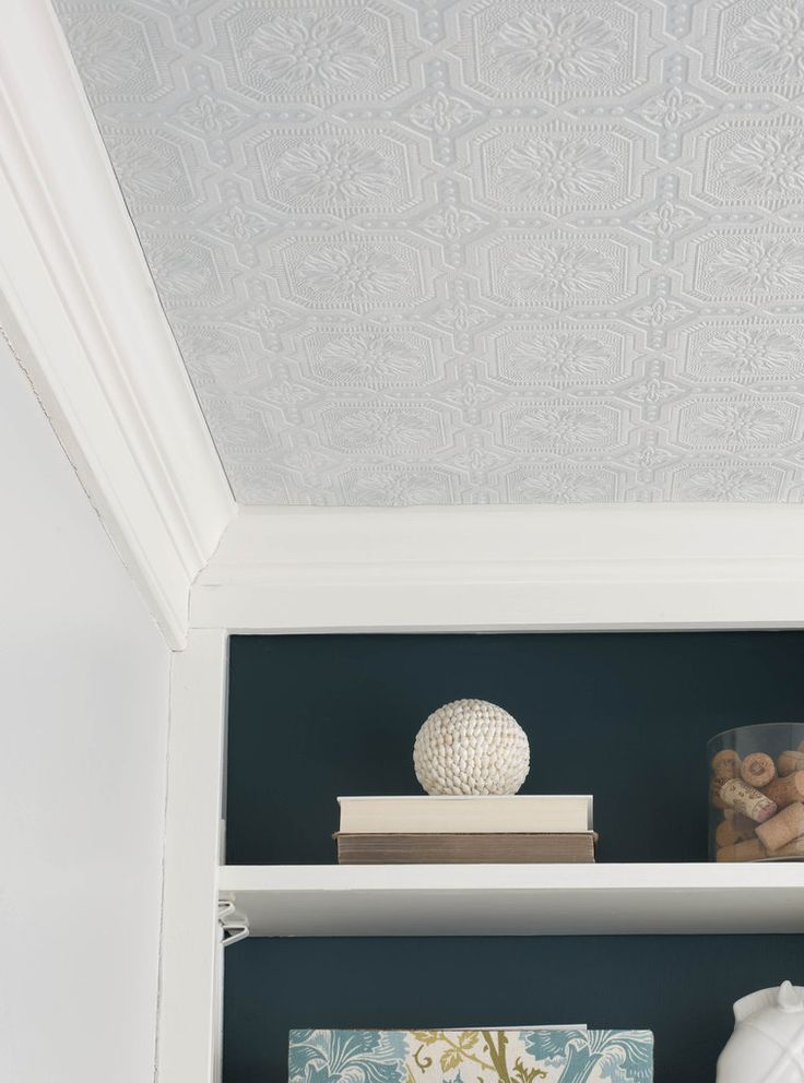 17 best images about textured wallpaper ideas on pinterest for Ceiling wallpaper