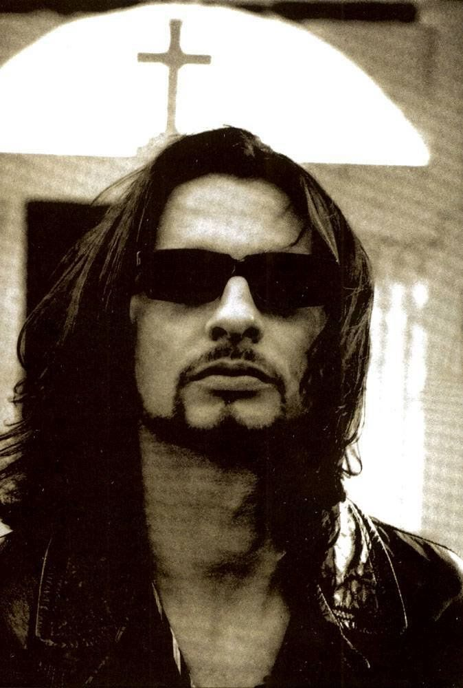 Dave Gahan of Depeche Mode...SO SEXY in this picture....THAT MOUTH.  ~<3~
