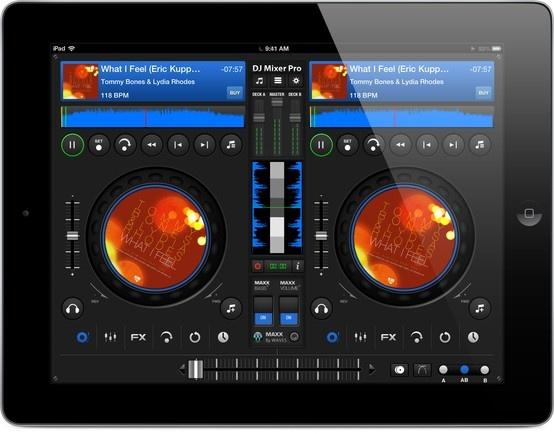 DJ Mixer 7 for iPad