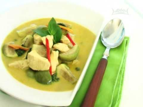 13 best thai food thai recipe videos images on pinterest thai thai cooking recipe chicken green curry from lobo thai food lobo forumfinder Image collections
