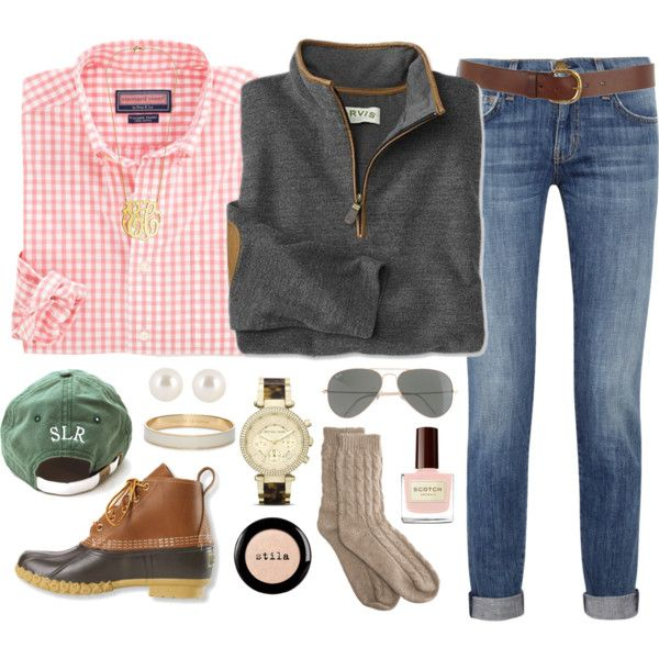 """=Sweet southern prep="" by preppy-prep on Polyvorei have all these pieces basically"