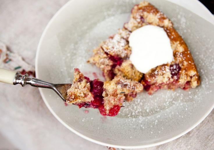 Kitchenette - Višňový koláč z jogurtového těsta