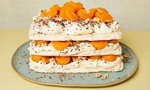 Ruby Tandoh's hazelnut and clementine meringue recipe | The sweet spot | Life and style | The Guardian
