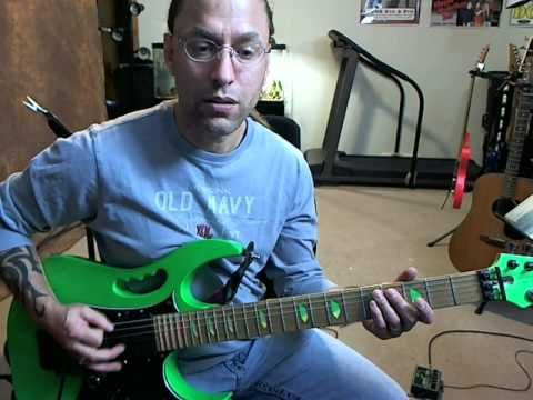 ▶ Guitar Lesson - Fundamental daily practice techniques for electric guitar - YouTube