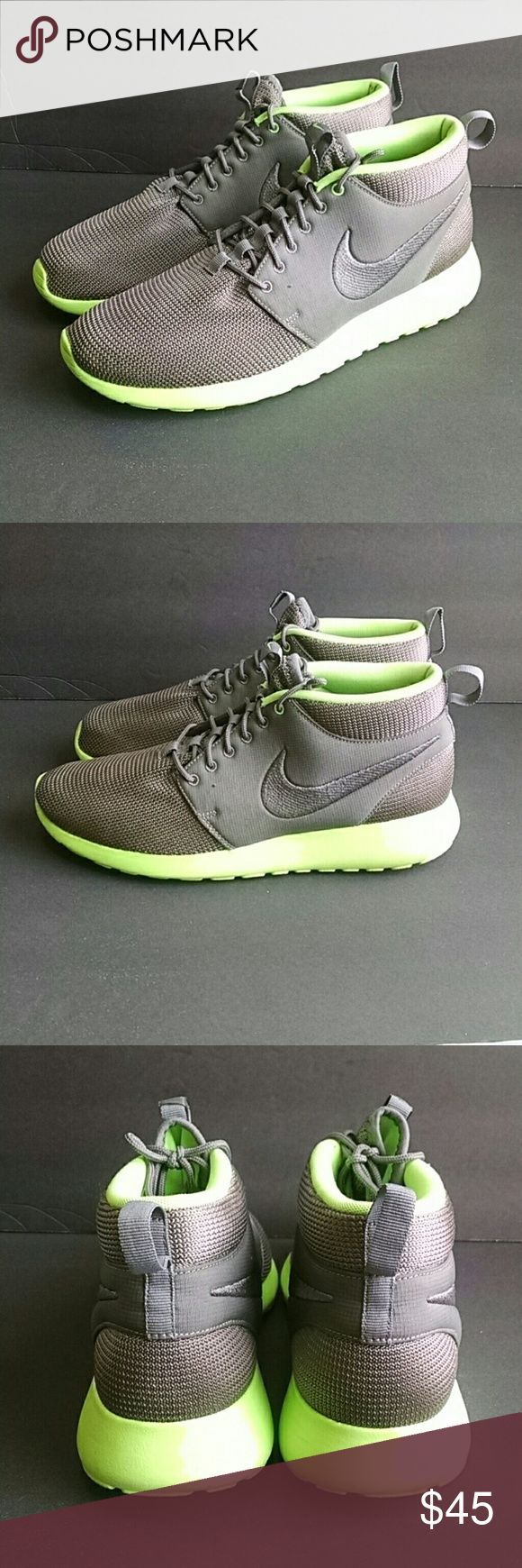 Nike Mid Top Men's Size 12 Nike mid top men's size 12 . Uppers in excellent condition and soles show no noticable wear. Nike Shoes Athletic Shoes