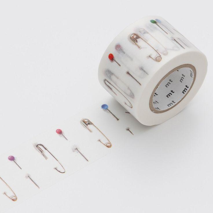 safety pin Washi Tape