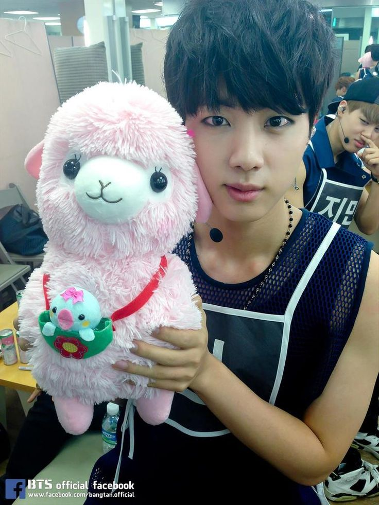 BTS @140904  Music Show waiting room with Jinpaca