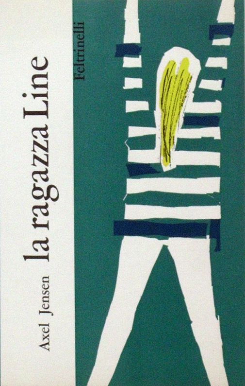 Axel Jensen La ragazza Line  n. 5 - il Quadrifoglio  Progetto grafico e illustrazione di copertina  di Marco Biassoni.