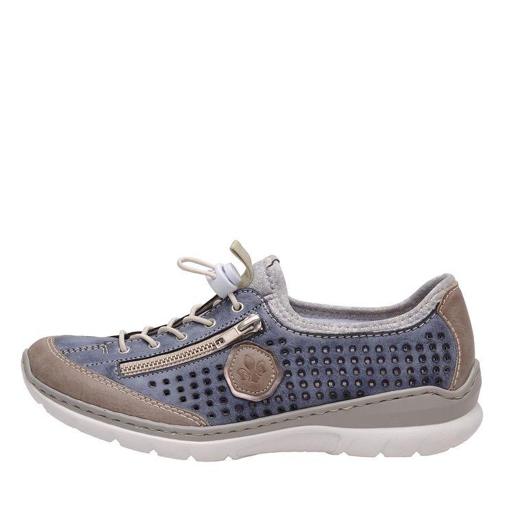 Dámská obuv RIEKER L3296/42 BLAU KOMBI F/S 7 | Rieker