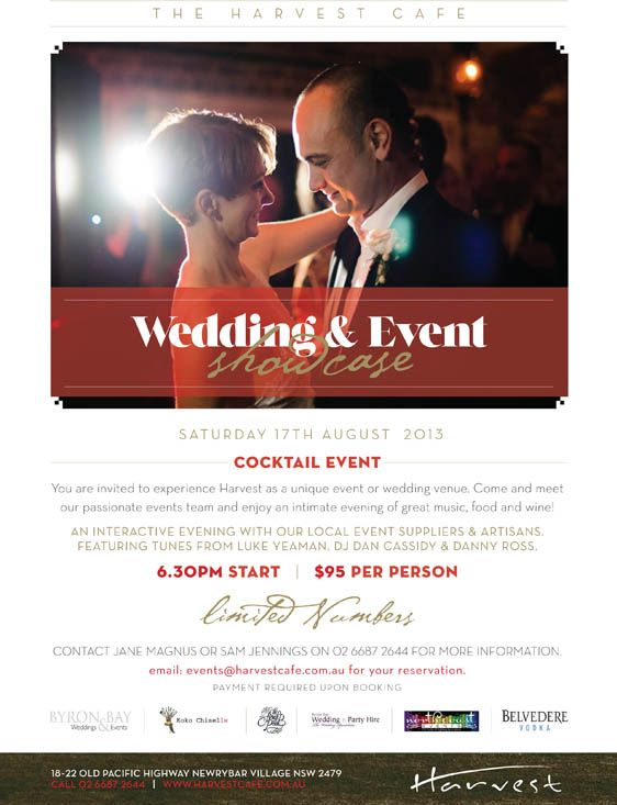 Harvest Cafe Wedding and Event Showcase