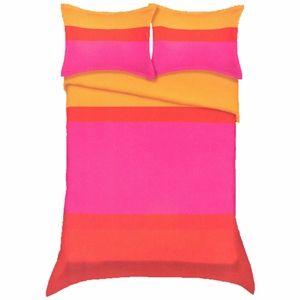Marimekko Hennika Orange Percale Bedding