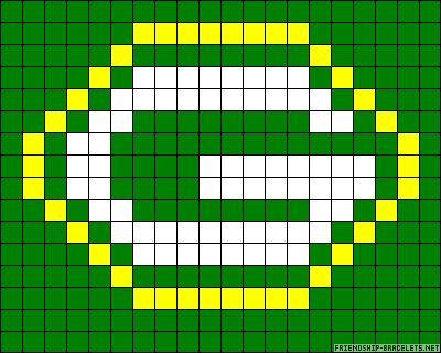 Green Bay Packers (Alpha Pattern)